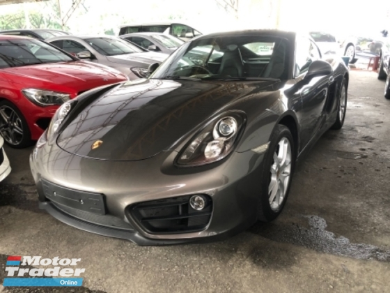 2016 PORSCHE CAYMAN Unreg Porsche Cayman 2.7 PDK Facelift 18Sport Rims Tiptronic 7Speed