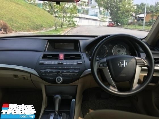 2011 HONDA ACCORD 2.0 I VTEC (A) FulloanOTR TRUE YEAR MAKE 1JAM Lulus Promotion Bank