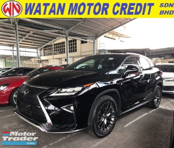 2017 LEXUS RX RX200T FSPORT PANORAMIC ROOF 4 CAMERA MEMORY SEAT 2017 JAPAN UNREG