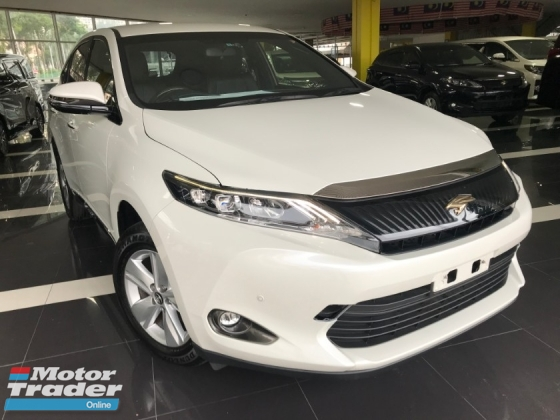 2015 TOYOTA HARRIER 2.0 ELEGANCE [ 4 YEARS WARRANTY , LIKE NEW CAR CONDITION MUST VIEW UNIT ] MERDEKA PROMOTION LOWEST PRICE IN TOWN