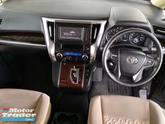 2015 TOYOTA VELLFIRE 2.5 X EDITION 8 SEAT JAPAN UNREG