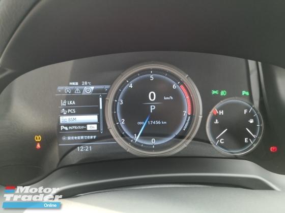 2017 LEXUS RX RX200T F SPORT JAPAN UNREG