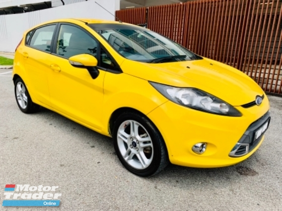 2011 FORD FIESTA FORT FIESTA S 1.6 SPORT 1 LADIES OWNER