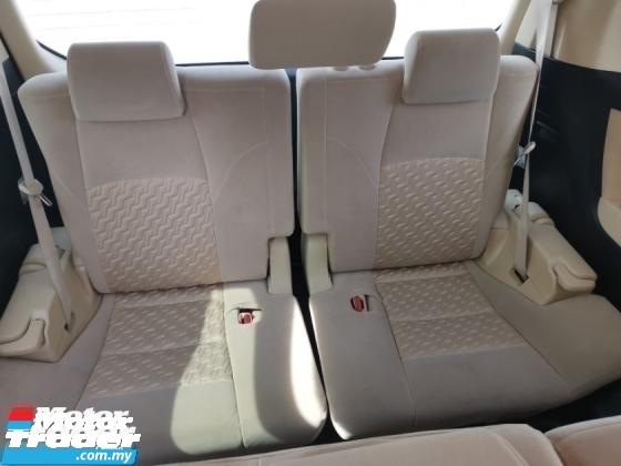 2015 TOYOTA VELLFIRE 2.5 X 8 Seater Unregister 2 YEAR WARRANTY