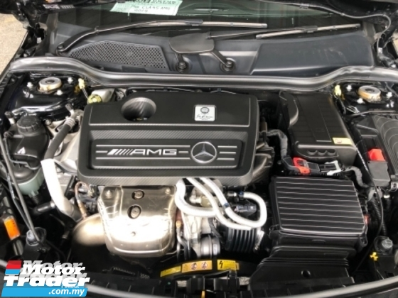 2014 MERCEDES-BENZ CLA Unreg Mercedes Benz CLA45 2.0 Turbo Sun Roof Camera 360HP 4MATIC AMG Sport Paddle Shift SST Deductio