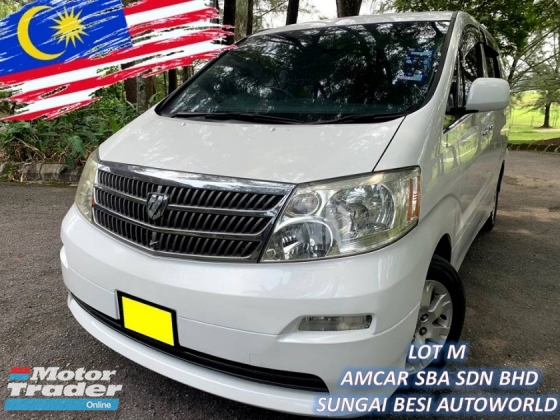 2004 TOYOTA ALPHARD 3.0 MZG (A) 2 P/DOOR P/BOOT 7 SEAT 09