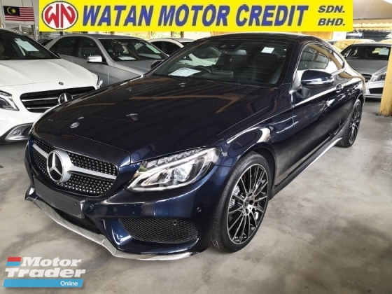 2017 MERCEDES-BENZ C-CLASS C300 AMG COUPE BURMESTER SOUND PAN ROOF KEYLESS UK UNREG
