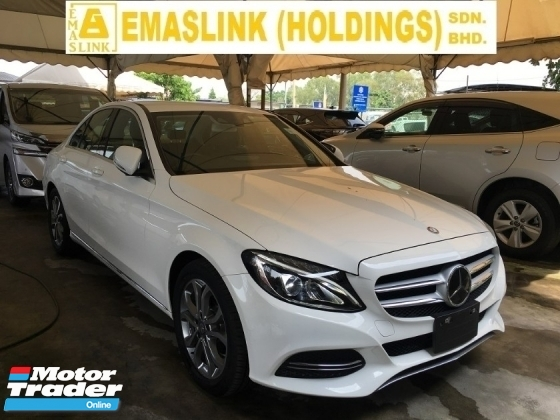 2014 MERCEDES-BENZ C-CLASS C180 1.6 AVANTGARD SPORT SEDAN P/CRASS JAPAN