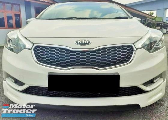 2016 KIA CERATO 1.6 KS - EZY LOAN AND FAST APPROVAL