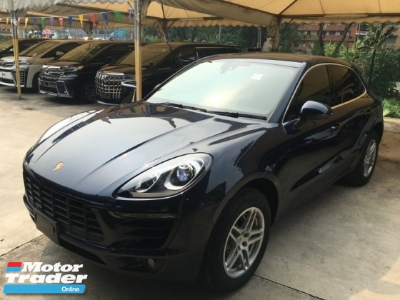 2016 PORSCHE MACAN Macan S TURBO SUV POWER BOAT S/ROOF JAPAN