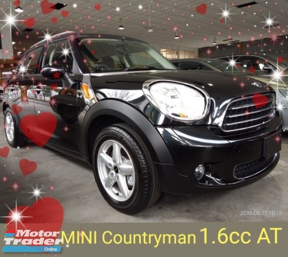 2014 MINI Countryman 1.6 AT instalment rm1,136months 1year warranty👍 FROM~JAPAN✔