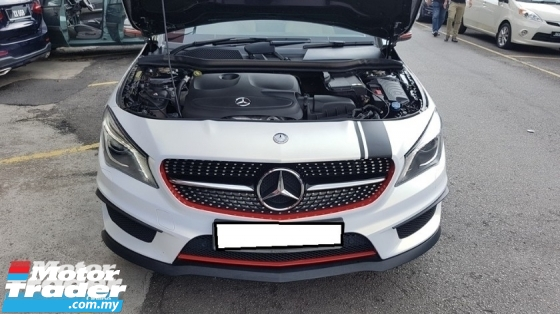2015 MERCEDES-BENZ CLA CLA200 1.6cc (A) REG MAY 2015, ONE CAREFUL OWNER, FULL SERVICE RECORD, LOW MILEAGE DONE 73K KM, FREE 1 YEAR GMR CAR WARRANTY, CONVERT TO A45 BODY KIT & 19\