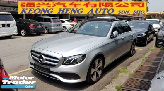 2016 MERCEDES-BENZ E-CLASS E250 CGI (A) AVANT-GARDE MODEL, REG OCT 2016, ONE CAREFUL OWNER, FULL SERVICE RECORD, LOW MILEAGE DONE 15K KM, UNDER WARRANTY UNTIL OCTOBER 2020, 19\