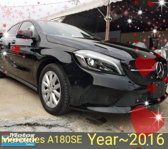 2016 MERCEDES-BENZ A-CLASS A180SE From~Japan Recon 3year warranty👍 on the road~RM139,888👍 2.48%+/-interest☺