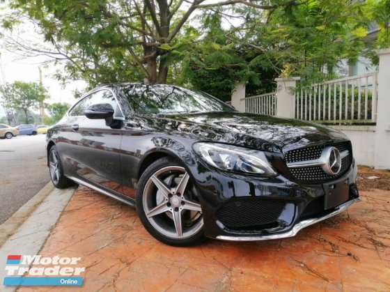 2016 MERCEDES-BENZ C-CLASS C180 AMG COUPE - JAPAN UNREG - GOOD CONDITION