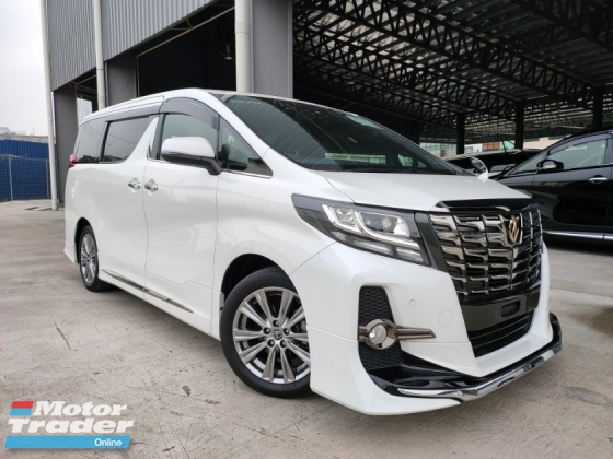 2016 TOYOTA ALPHARD 2016 Toyota Alphard 2.5 SA Type Black Sun Roof Power Boot 2 Power Door 7 Seater Modelista Bodykits Unregister for sale