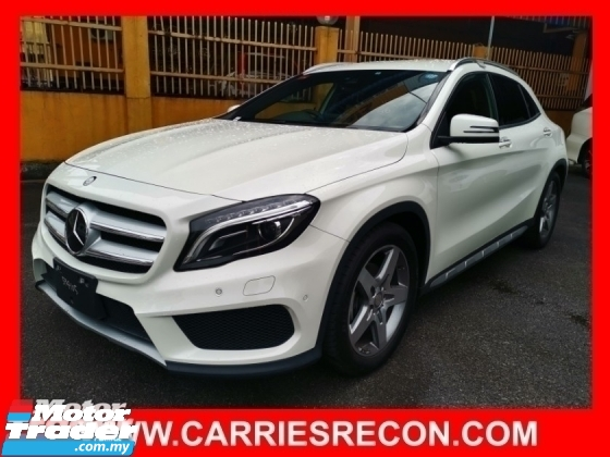 2016 MERCEDES-BENZ GLA GLA180 AMG - LOW MILEAGE - JAPAN SPEC - UNREG