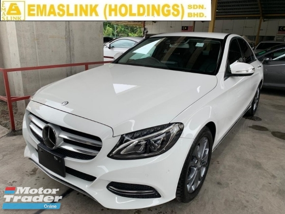 2014 MERCEDES-BENZ C-CLASS C180 UNREG JAPAN SPEC AVANTGARDE LOW INTEREST HIGH SPEC