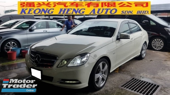 2012 MERCEDES-BENZ E-CLASS E250 CGI 1.8cc (A) AVANT-GARDE MODEL, REG 2015, JAPAN SPEC, CAREFUL OWNER, MILEAGE DONE 101K KM, FREE 1 YEAR GMR CAR WARRANTY, 100% ACCIDENT FREE, 18\
