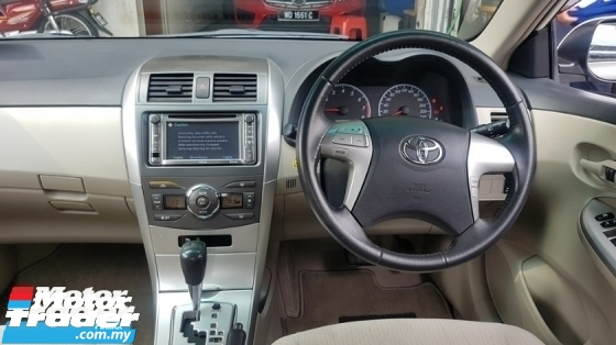 2012 TOYOTA COROLLA ALTIS 1.8 VVTI E SPEC (A) REG JUNE 2012, CAREFUL OWNER, FULL SERVICE RECORD, LOW MILEAGE DONE 88K KM, 16\