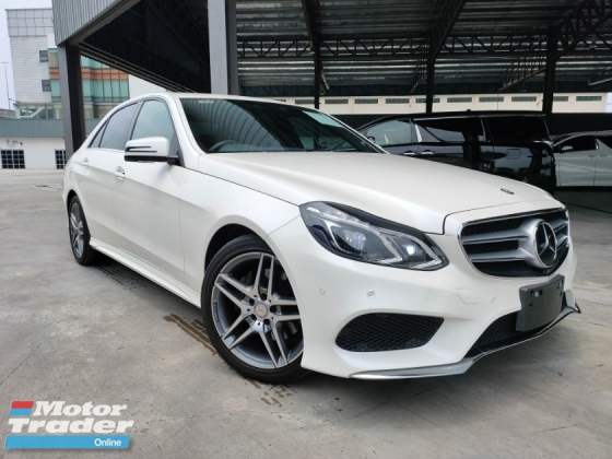 2014 MERCEDES-BENZ E-CLASS 2014 Mercedes E250 AMG Japan Spec 4 Camera 360 View Full Leather L & R Electric Seat Pre Crash System Blind Spot LKA  Unregister for sale