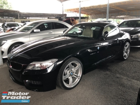 2015 BMW Z4 Unreg BMW Z4 2.0 Turbo I Drive M Sport Convetible Top Paddle Shift 8G