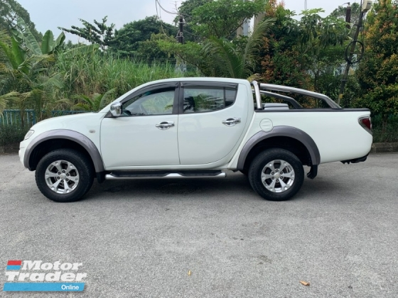 2010 MITSUBISHI TRITON 3.2 (A) ORIGINAL PAINT 1 OWNER NO OFF ROAD