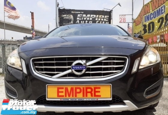 2013 VOLVO S60 1.6 (A) T4 SEDAN !! TURBOCHARGED AWD 6 SPEED AUTOMATIC TRANSMISSION !! NEW FACELIFT !! CKD !!  180H/P 240NM !! MILEAGE DONE 82,909 KM !! AVERAGE USAGE 11, 064 KM PER YEAR ONLY !!  4X KEYLESS ENTRY / PUSH START / FULL LEATHER SEMI BUCKET SEAT / 2 X ELECTRO