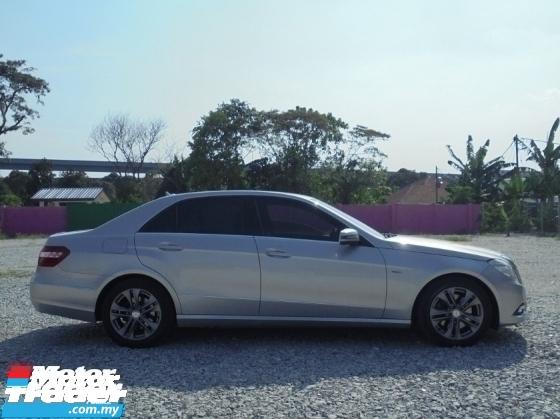 2009 MERCEDES-BENZ E-CLASS  E250 CGI 1.8 Avantgarde W212 BlueEfficiency 5G Luxury LikeNEW Reg.2011