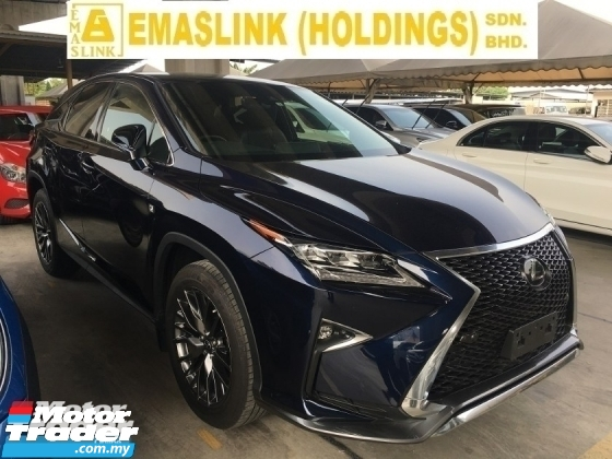 2017 LEXUS RX 200T 2.0 F SPORT SUV POWER BOAT CAMERA AIR-COUNT SEAT LIKE NEW
