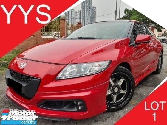 2013 HONDA CR-Z 1.5 (A) MUGEN HYBIRD I-VTEC 1 CAREFUL OWNER GOOD CONDITION ACC FREE PROMOTION PRICE.