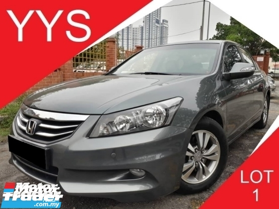 2013 HONDA ACCORD 2.0 (A) VTI-L I-VTEC FULL SERVICE RECORD BY HONDA GOOD CONDITION ACC FREE PROMOTION PRICE.