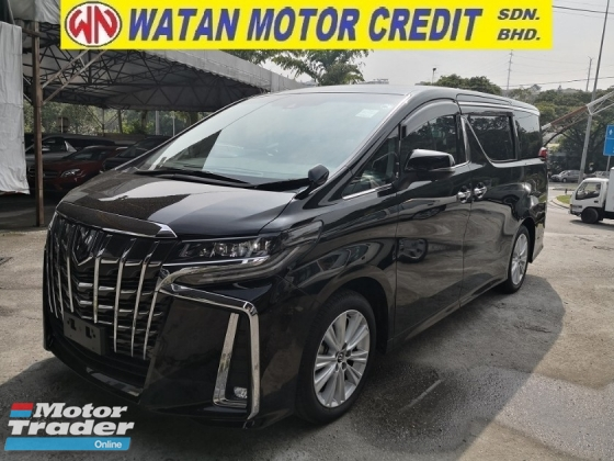 2018 TOYOTA ALPHARD 2.5 SA FACELIFT 360 CAM PRE CRASH LANE KEEPING ASSIST JAPAN UNREG