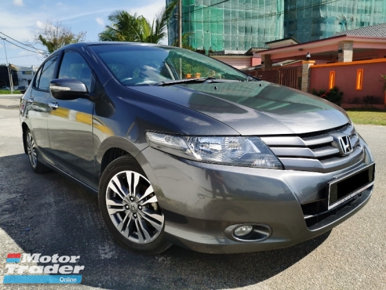 2011 HONDA CITY 1.5 E (A) ACCIDENT FREE, ORIGINAL PAINT