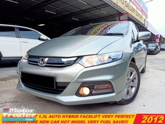 2012 HONDA INSIGHT 1.3(HYBRID) FACELIFT(A)LIKE NEW