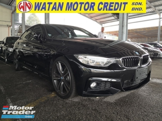 2015 BMW 4 SERIES 420i M SPORT GRAND COUPE 4 DOORS JAPAN UNREG
