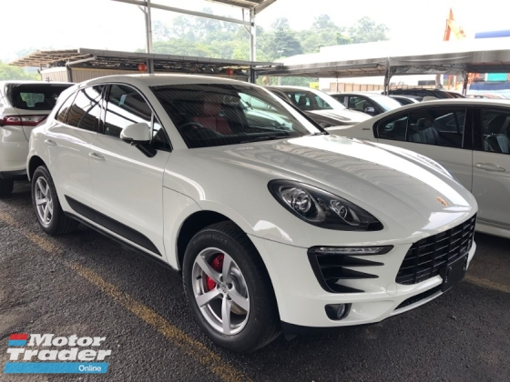 2015 PORSCHE MACAN 2.0 Turbocharged 7-Speed PDK AWD PCM Adaptive Bi-Xenon Lights 2 Memory Bucket Seat Sport-Mode Multi Function Paddle Shift Steering Zone Climate Control Bluetooth Connectivity Unreg