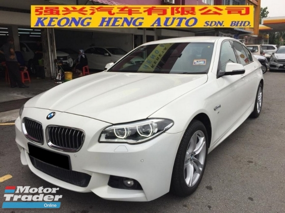 2016 BMW 5 SERIES 520i MSPORT CKD FS UW2021
