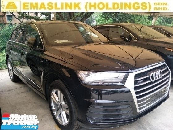 2016 AUDI Q7 3.0 TFSI OTTR S LINE DIESEL TURBO FACELIFT POWER BOOT REVERSE CAMERA REAR CLIMATE AIRCOND CONTROL