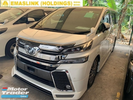 2016 TOYOTA VELLFIRE 2.5ZG PILOT SEAT ALPINE 360 SURROUND CAMERA NEW ARRIVAL UNREGISTER NEGO OFFER PROMOTION