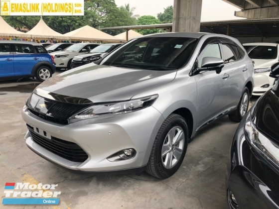 2017 TOYOTA HARRIER 2.0 3ZR-FAE Pre-Crash 360 Surround Camera Automatic Power Boot Auto Power Seat Intelligent Bi LED Smart Entry Push Start Button Multi Function Steering 9 Air Bag Unreg