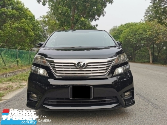 2010 TOYOTA VELLFIRE 2.4 (A) Z PLATINUM - REG 15 SUPERB CONDITION