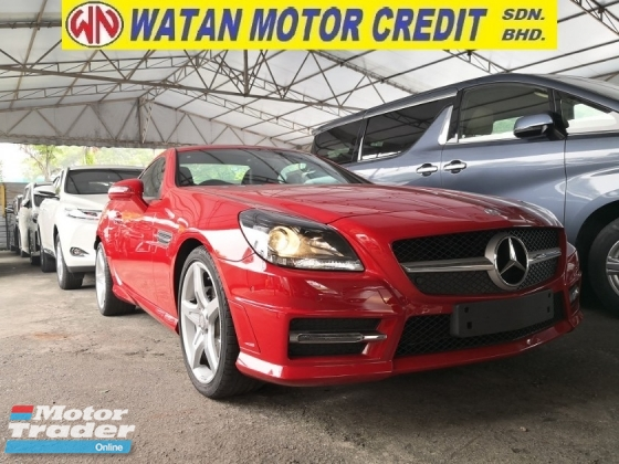 2016 MERCEDES-BENZ SLK SLK200 2.0 AMG PAN ROOF UK UNREG