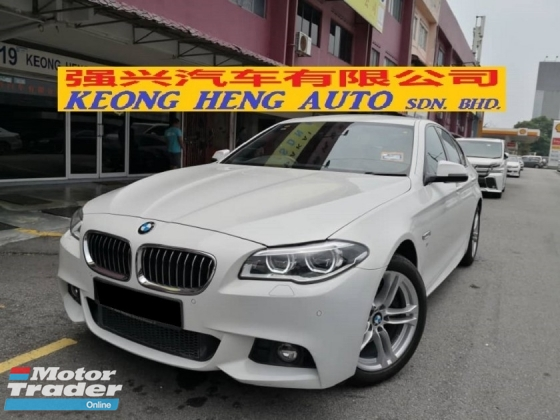 2016 BMW 5 SERIES 520i M SPORT NEW FACELIFT CKD TRUE YEAR MADE 2016 MIL 45K KM ONLY UNDER BMW WARRANTY UNTIL 2021
