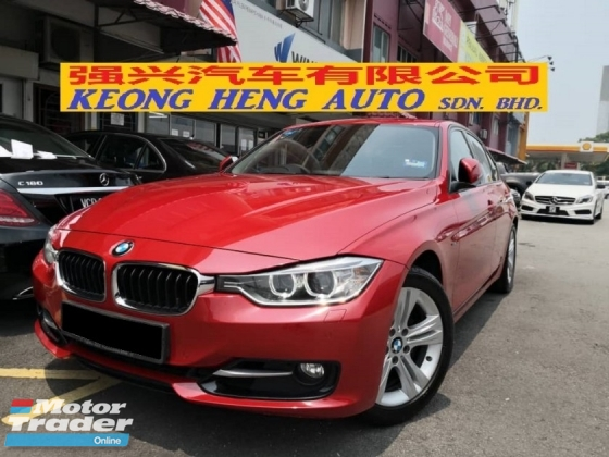 2015 BMW 3 SERIES 320i SPORTS TRUE YEAR MADE 2015 MIL 80K KM UNDER BMW WARRANTY TO SEP 2020
