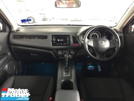 2017 HONDA HR-V 1.8 i-VTEC (A) Genuine Mileage Manufactured Warranty