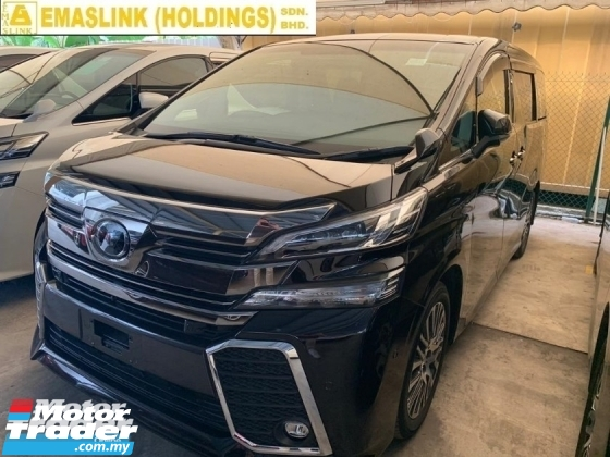 2015 TOYOTA VELLFIRE 2.5ZA PILOT SEAT SURROUND CAMERA JBL SOUND SYSTEM HOME THEATER