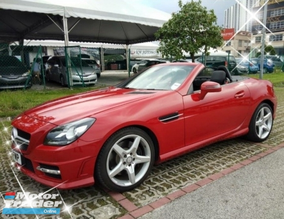 2014 MERCEDES-BENZ SLK 200 CGL Coupe ON THR ROAD~PRICE RM178,888 3year earranty interst~2.5% 😊👍