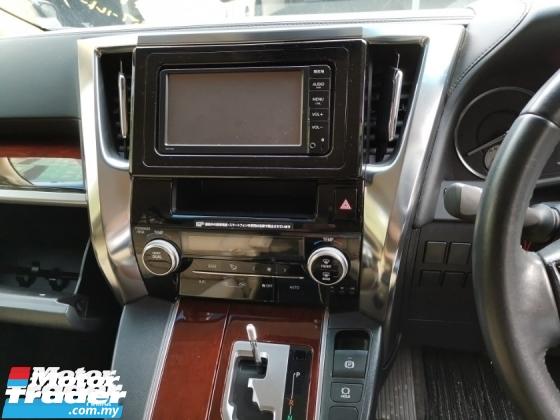 2015 TOYOTA VELLFIRE Toyota Vellfire 2.5 X WELCAB