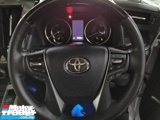 2018 TOYOTA ALPHARD Toyota Alphard 3.5 Executive Lounge